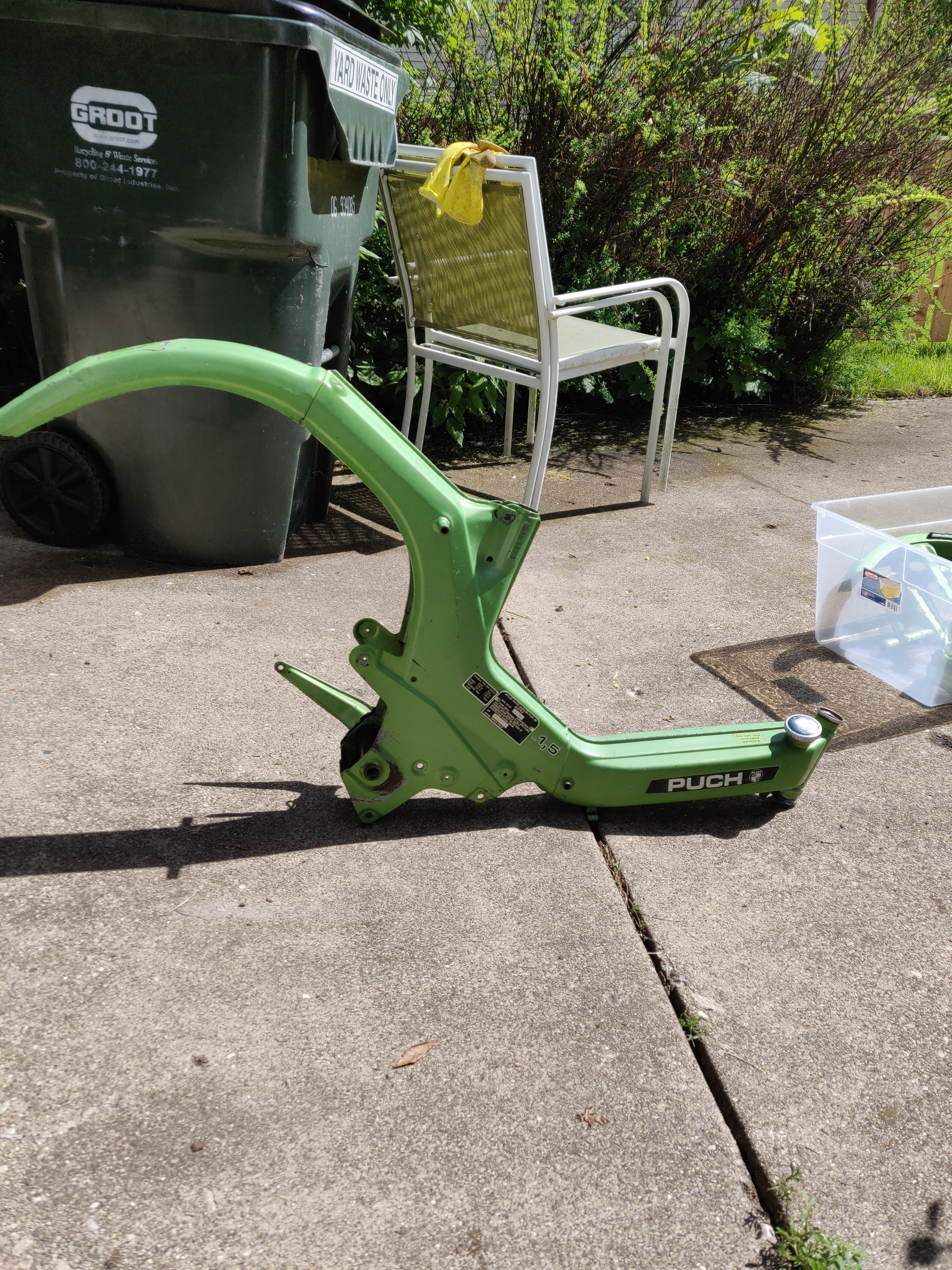 Moped Electric Conversion, Puch Maxi