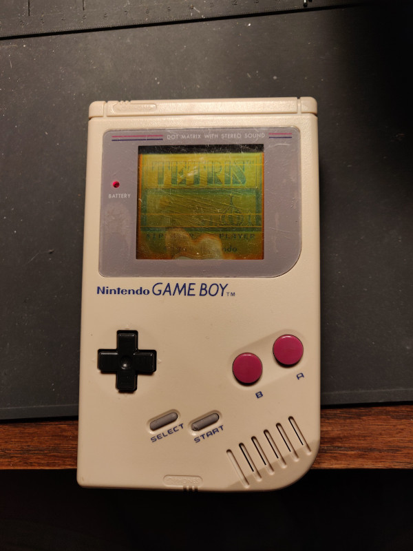 Gameboy Before