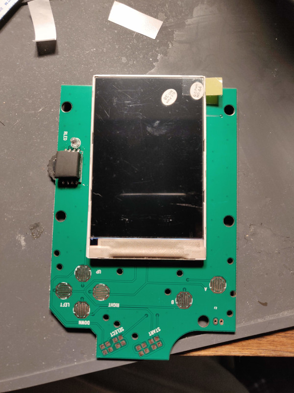 Mounted LCD Display