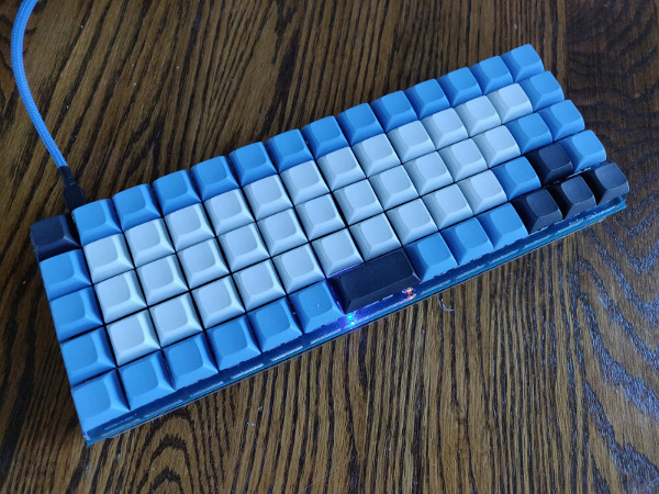 KeeBee Keyboard, completed